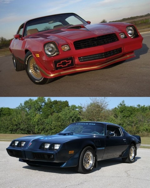 This Or That 1979 Chevy Camaro Z28 Versus 1979 Pontiac Fi