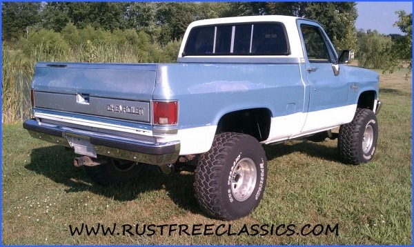 87 K10 Short Bed Swb Silverado Fuel Injected 6 Inch Lift 4x4 1987