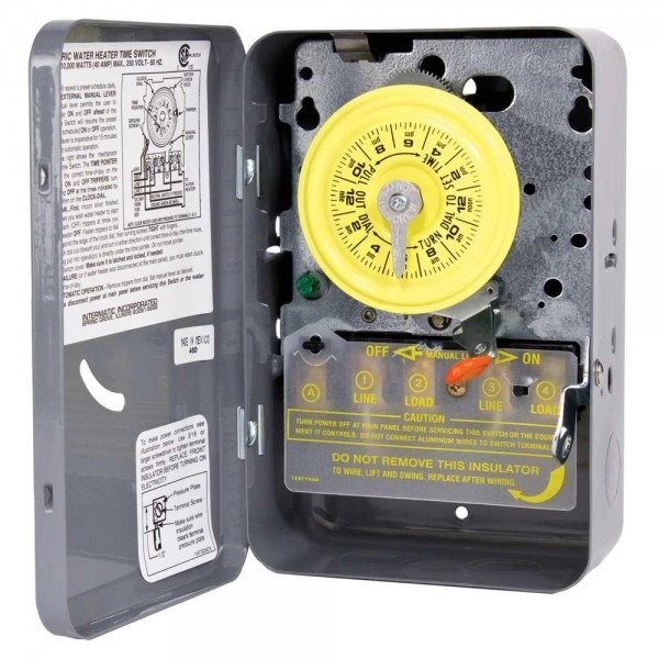 Intermatic Wh21 Water Heater Timer
