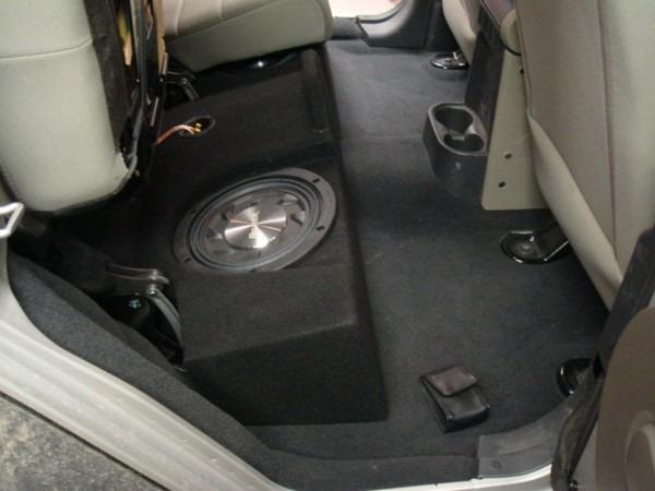Jeep Wrangler 4 Door Subwoofer Enclosure