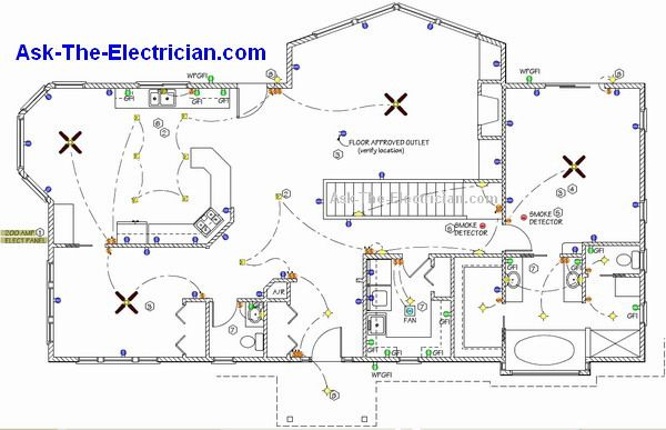 House Electrical Wiring Drawing Symbols
