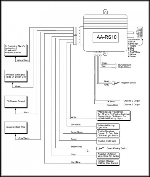 Audiovox Vehicle Wiring Diagrams