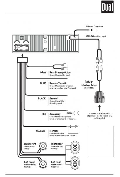 Car Dual Xdm260 Wiring Diagram