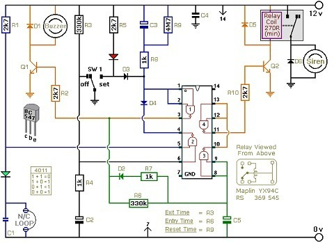 House Wiring Schematic