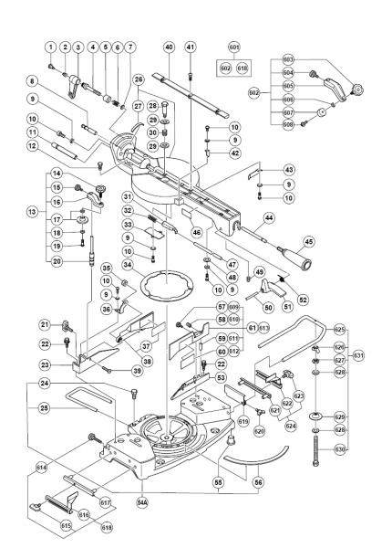 Buy Hitachi C10fsh 10 Inch Sliding Dual Bevel Compound Miter W
