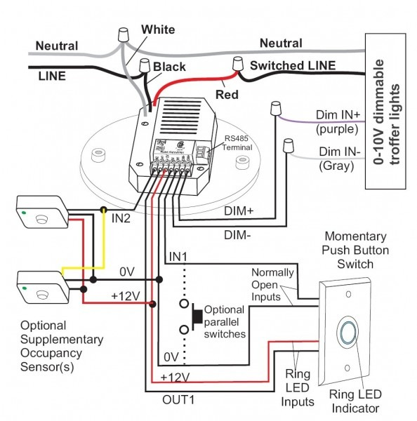 Switch Dim Wiring Diagram