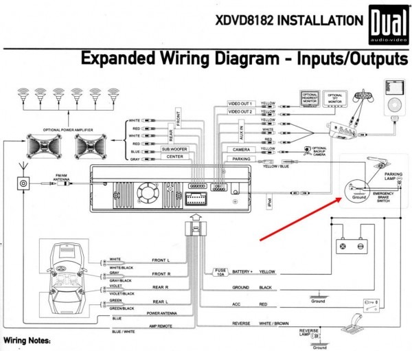 Dual Xd1222 Wiring From