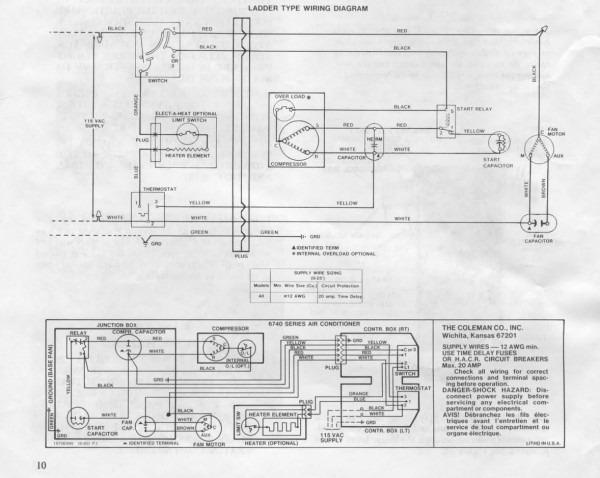 Coleman Mach Wiring Diagram