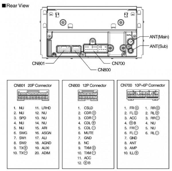 Panasonic Car Stereo 16 Pin Wiring Diagram