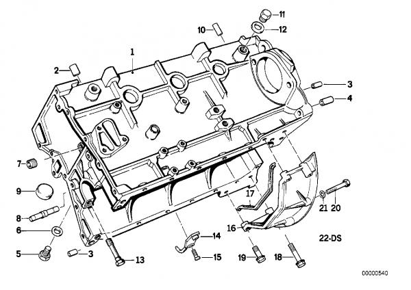E30 Engine Diagram