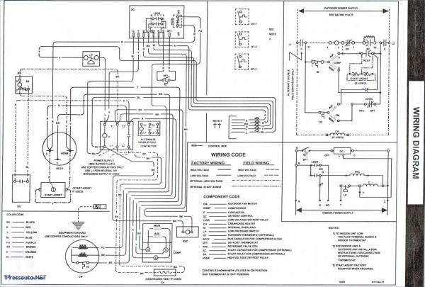 goodman furnace schematic diagram  u2013 car wiring diagram