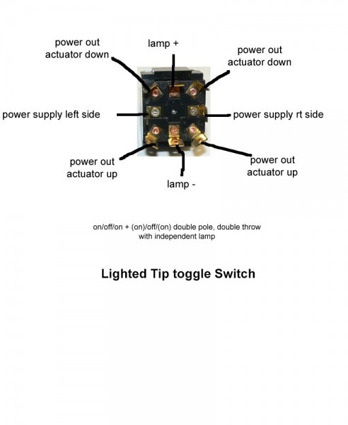 Carling Lighted Switch Wiring Diagram