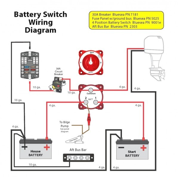 Switch Battery Diagram