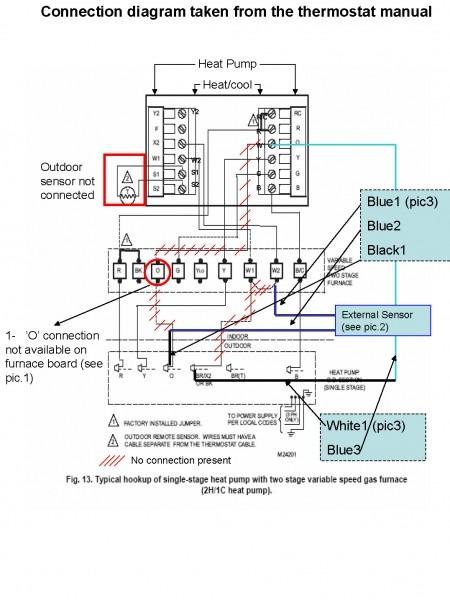 Wiring Diagram Trane Baystat239a