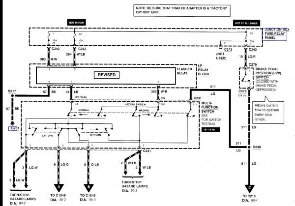 1997 Ford F 350 Trailer Wiring Diagram