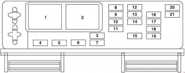 2005 Ford Mustang Fuse Box Diagram