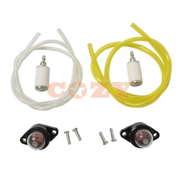 Fuel Line Filter Primer Bulb For Craftsman Poulan Chainsaw Blower