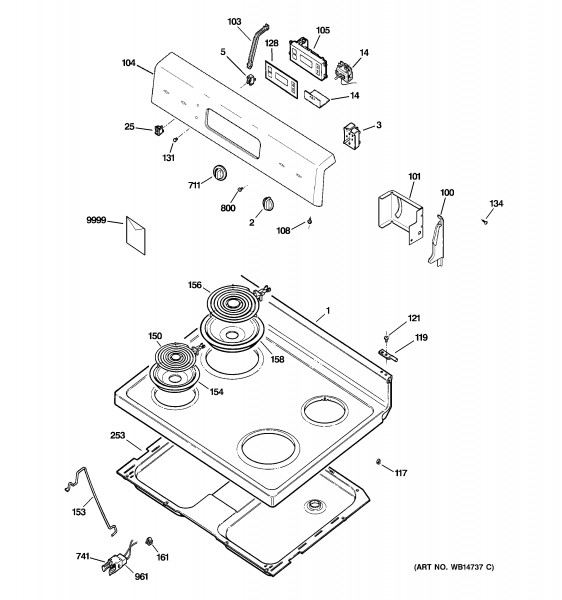 Hotpoint Electric Oven Parts