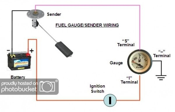 Teleflex Fuel Gauge Wiring Diagram