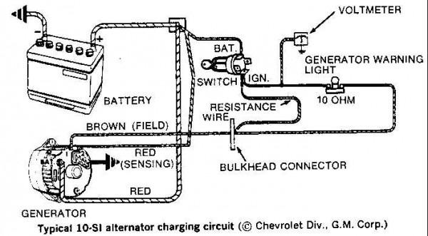Gm Wiring Alternator Gm Pin Alternator Wiring Diagram Gm Image
