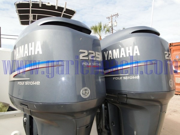 Used Pair Of Yamaha 225 Hp 4