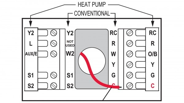 Old Round Honeywell Thermostat Wiring Diagram