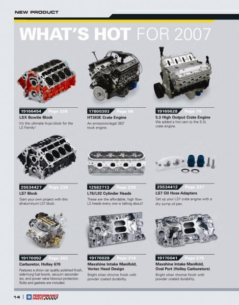 Gm What's Hot Parts Engines Components, Gm Parts Store Tampa