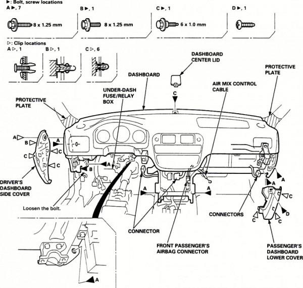 2003 Honda Crv Parts Diagram