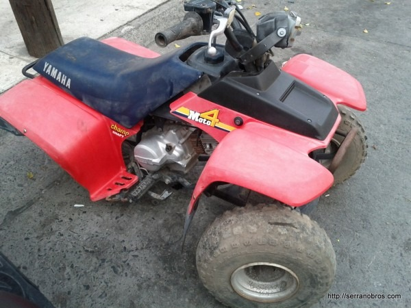 Trying To Figure The Year Of This Yfm80 Moto 4