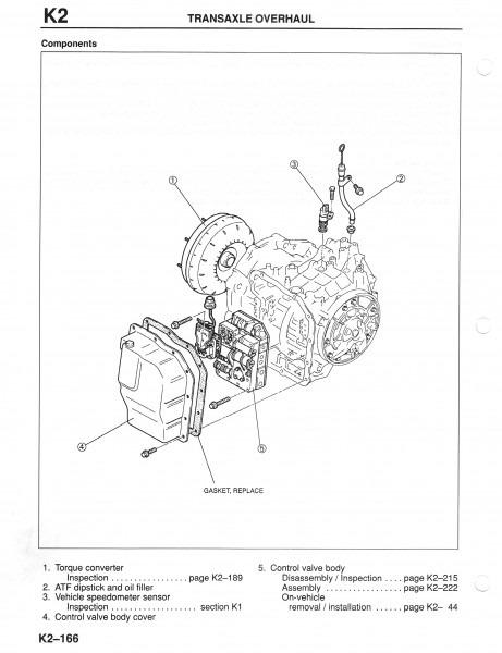 2002 Mazda 626 Transmission