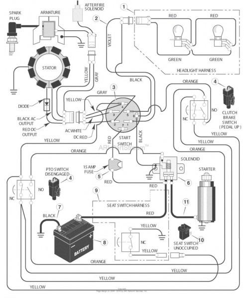 John Deere 111 Wiring Diagram