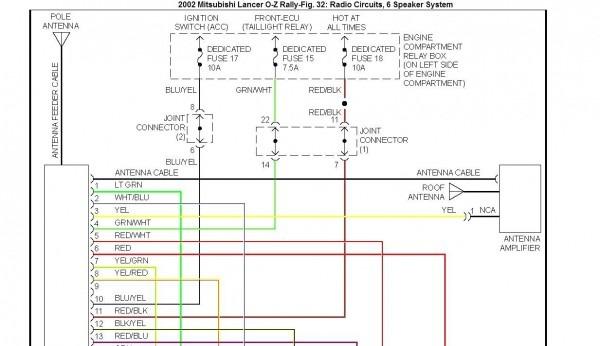 02 Mitsubishi Lancer Fuse Box Diagram