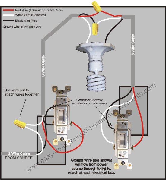 3way Wiring Diagram Way Switch Wiring Diagram Way Switch Wiring