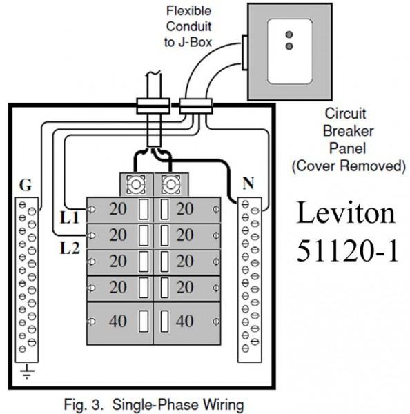 Breaker Box Wiring Diagram For 120v