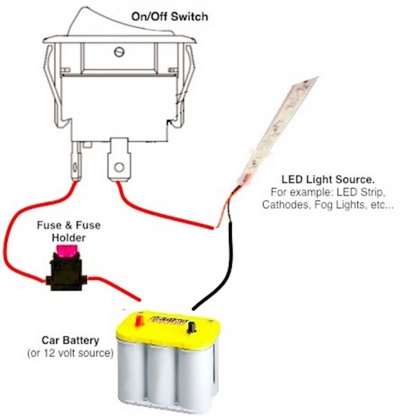 On Off Toggle Switch Wiring Diagram
