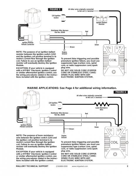 Mallory Ignition Mallory Unilite Electronic Breakerless Conversion
