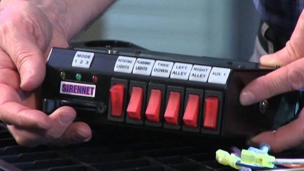 Sirennet 9 Switch Switchbox