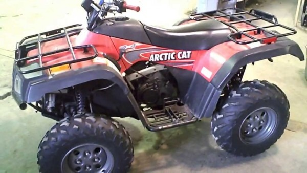 Lot 1591a 2003 Arctic Cat 400 4x4 Fis Running 230 Miles On It