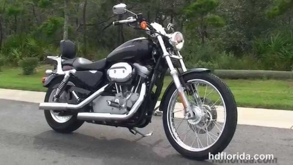 Used 2007 Harley Davidson Sportster 883 Custom Motorcycles For