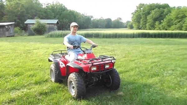 1993 Honda Fourtrax 300 4x4 For Sale