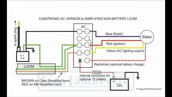 Casatronic Ignition Lambretta Wiring Diagrams (english Version