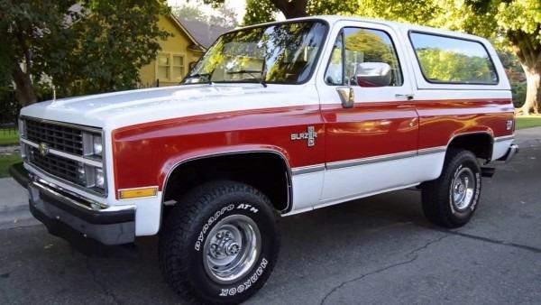 1984 Chevrolet K 5 Blazer Silverado
