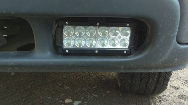 2001 Chevrolet Tahoe Led Fog Light Upgrade