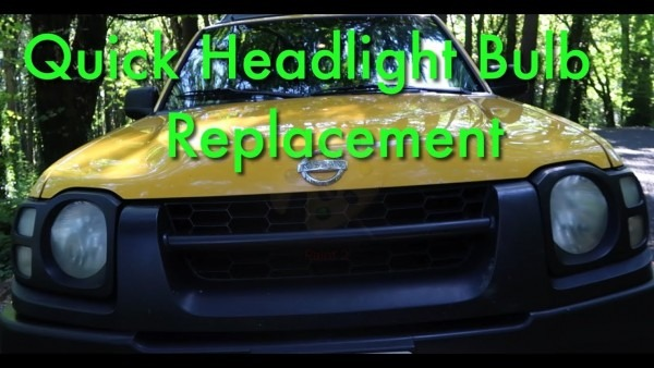 Nissan Xterra Headlight Bulb Install