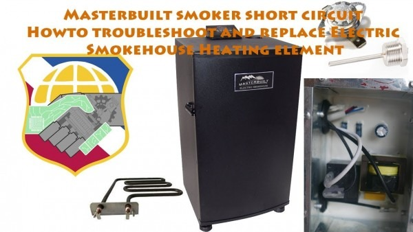 Masterbuilt Smoker Short Circuit
