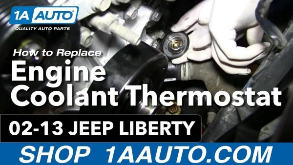 How To Install Replace Engine Coolant Thermostat And Housing 3 7l