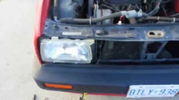 Volkswagen Mk2 Golf Jetta Removal Of Grille Front Bumper