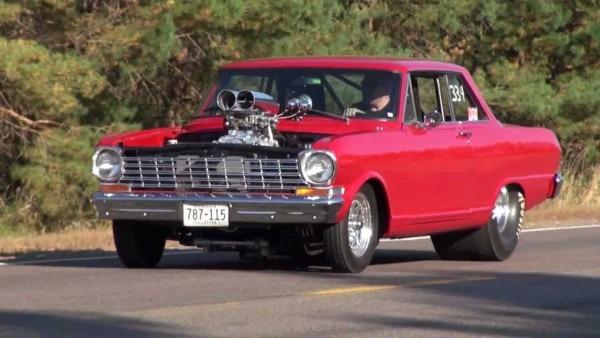 64 Chevy Nova Burnout