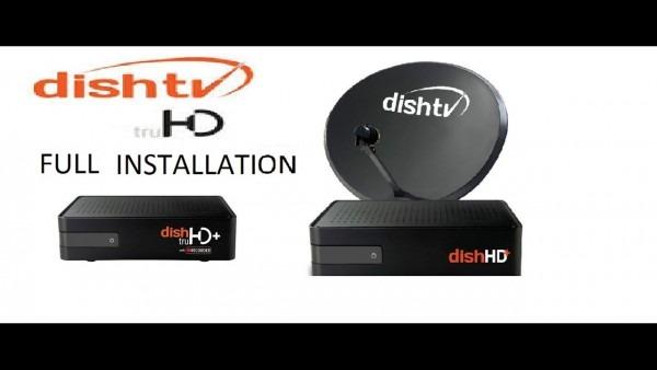Dish Tv Hd Setup Box Full Installation