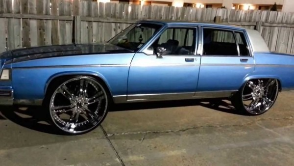 83 Buick Park Avenue Squatting On 8s